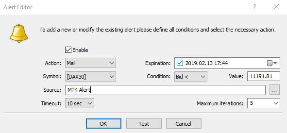 13+ Cara Membuat Alert Di Mt4 Android mudah