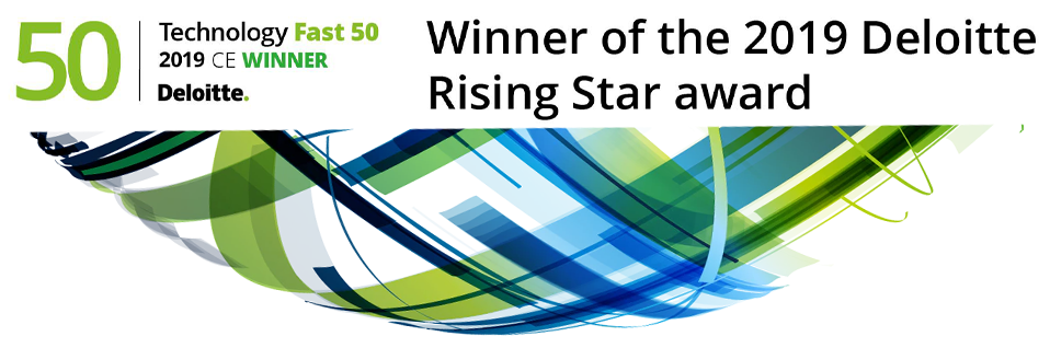 Winner of the 2019 Deloitte Rising Star award
